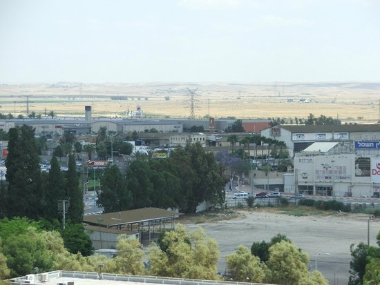 Leonardo Hotel Negev Beer-Sheva: View out 5th floor window - South