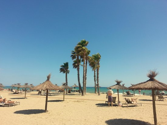 Hotel Comarruga Platja : пляж Кома Руги
