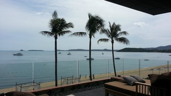 Hansar Samui Resort : View from breakfast place