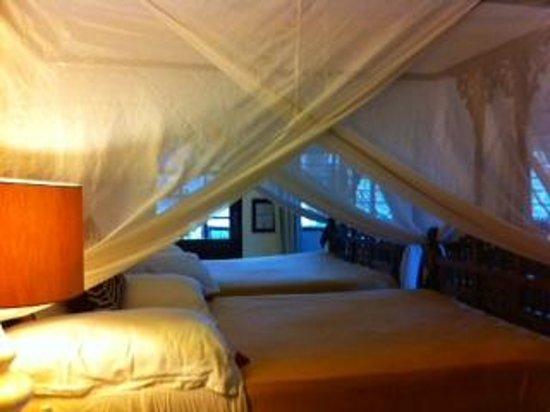 Ras Nungwi Beach Hotel: Garden view room