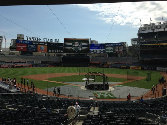 The great Yankee Stadium before Ole Timers Day!