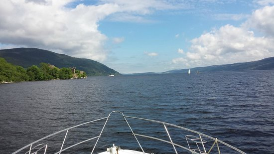 Loch Ness Cruises: On the cruise