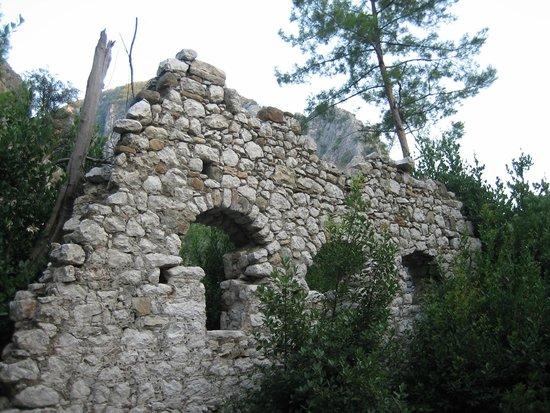 Canada Hotel Cirali Olympos: Olympos ruins