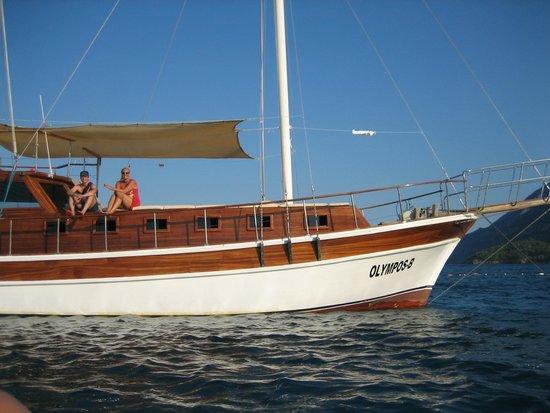 Canada Hotel Cirali Olympos: boat trip