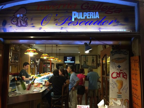 O' Pescador: the bar at O'Pescador
