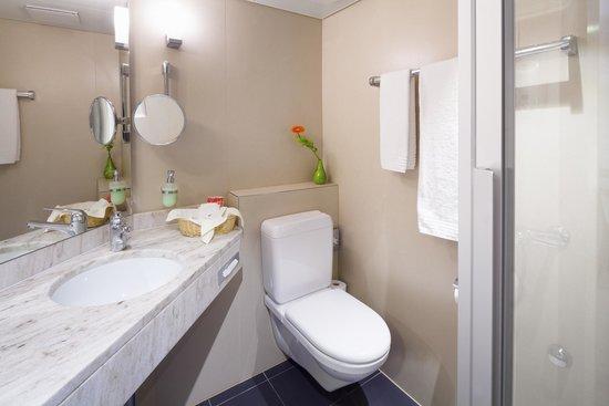 Hotel Du Parc: Badezimmer