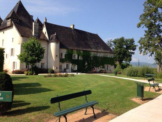 La chambre picture of chateau de pizay saint jean d 39 ardieres tripadv - Chateau de pizay restaurant ...