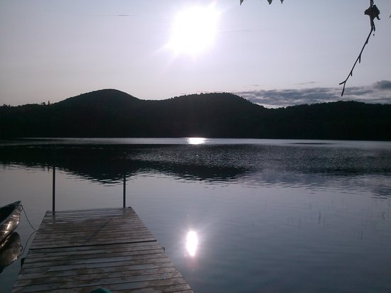 Mont Tremblant Activity Centre: view from dock