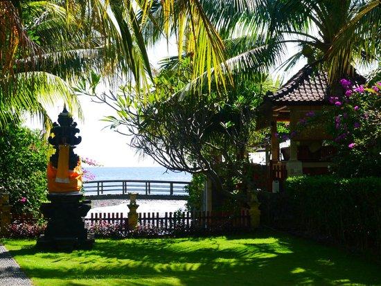 Arya Amed Beach Resort: Garden