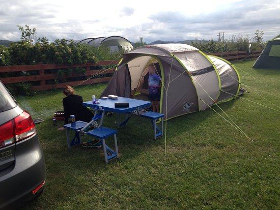 Henllys Farm Touring and Camping Site : Great time