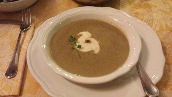 Del Sonno: zuppa di funghi