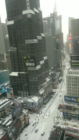 Novotel New York Times Square: Vista do Quarto