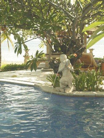Arya Amed Beach Resort: Pool