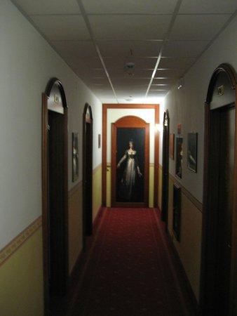 Hotel Napoleon: Flur