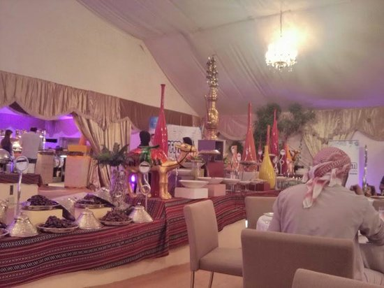 Hilton Capital Grand Abu Dhabi: Iftaar tent
