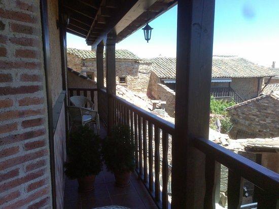 Casa Coscolo: balcon