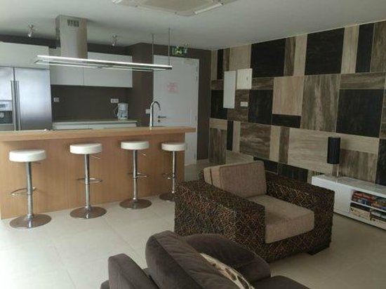 Hotel Baie des Anges : Kitchen