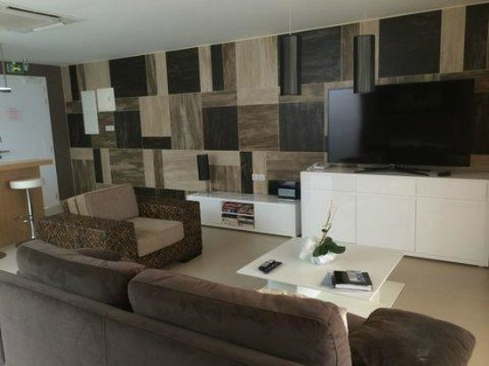 Hotel Baie des Anges : living area