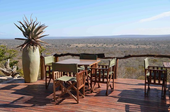 Bushwa Private Game Lodges: the view (from main Lodge)1