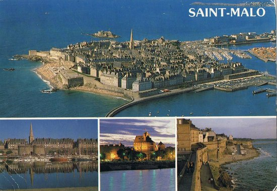 Fort National : Widok na Saint-Malo