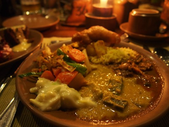 Sigiriya Village Hotel: 夕飯