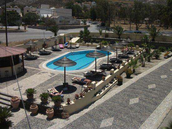 Horizon Resort: View from top floor room