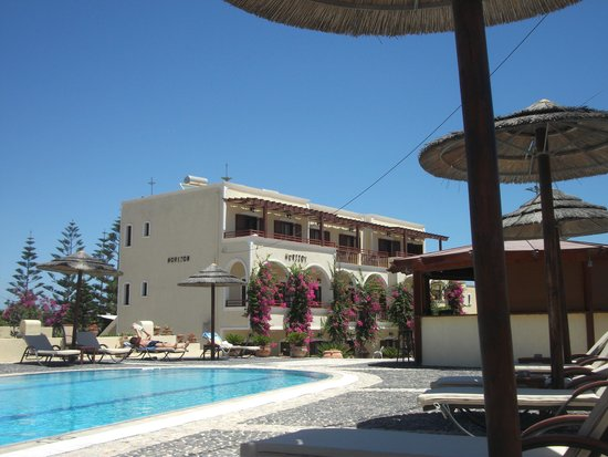 Horizon Resort: View from pool area