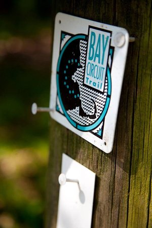 Bay Circuit Trail sign