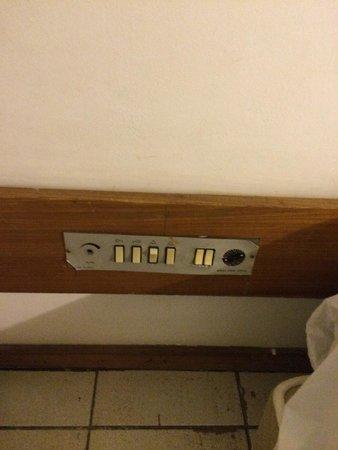 Bahia Park Hotel : Controle de iluminação