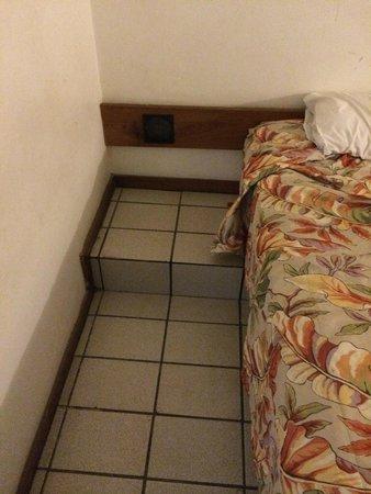 Bahia Park Hotel : Chão grudento