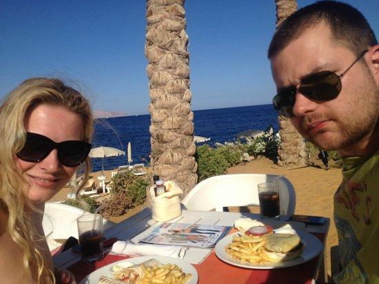 Stella Di Mare Beach Hotel & Spa: Beach restaurant