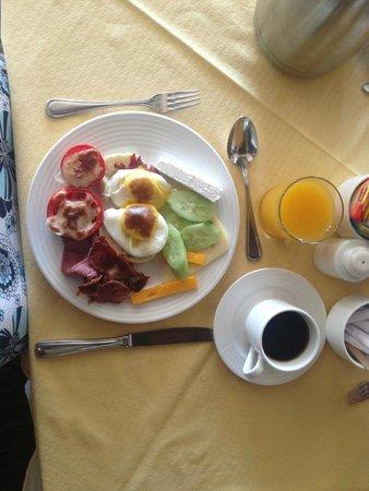 Stella Di Mare Beach Hotel & Spa: breakfast