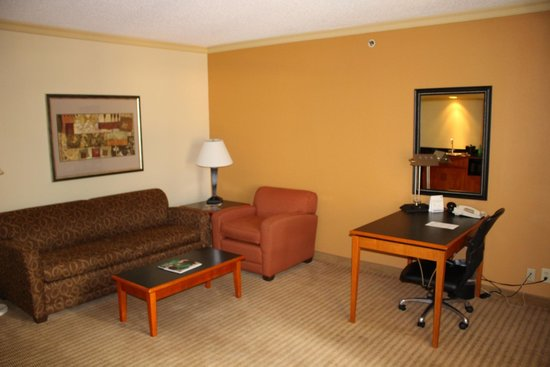 Holiday Inn Express Hotel & Suites-DFW North: Suite