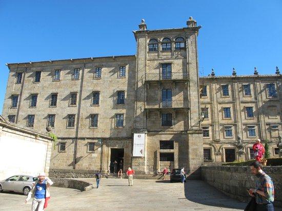 Hospederia San Martin Pinario : Frente de la Hospedería