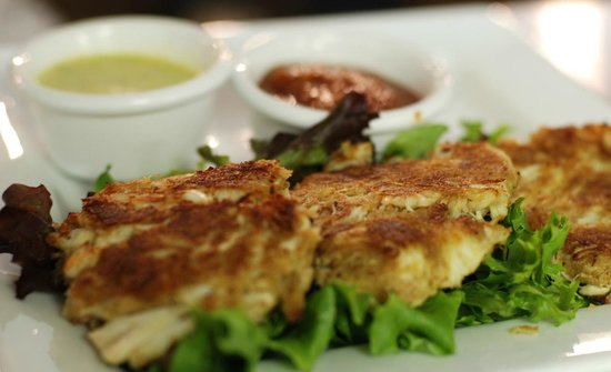 Stahlstown, Pennsylvanie : Delicious crab cakes