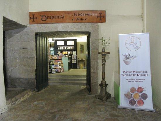 Hospederia San Martin Pinario: Vista del Shoping