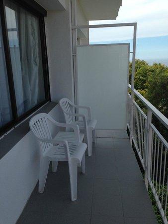 Hotel Lauria : Balcon de la chambre standard