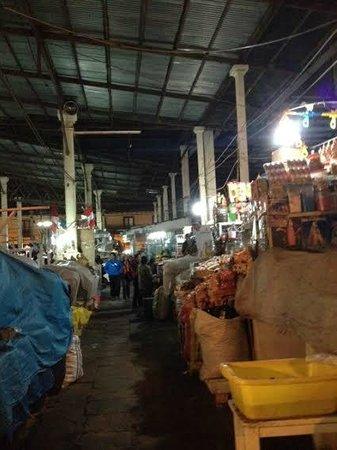 Mercado Central de San Pedro : frutas e outros vegetais