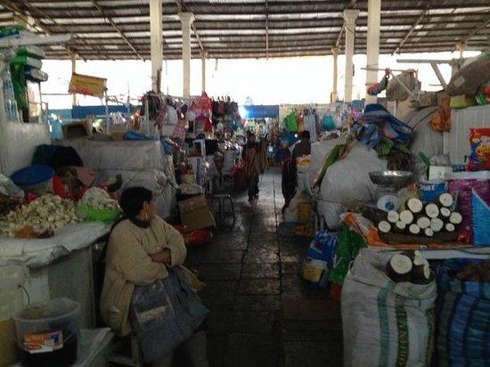 Mercado Central de San Pedro : alimentos a granel