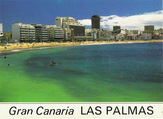 Playa de Las Canteras: Główna plaża Las Palmas