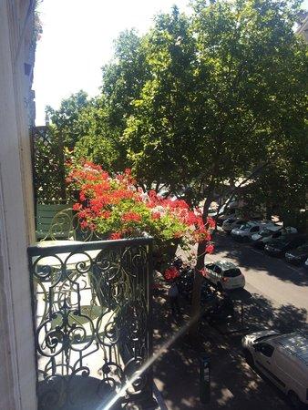 Hotel Britannique: Blick aus dem Zimmer