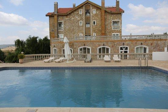 Le Palais des Cerisiers : piscine
