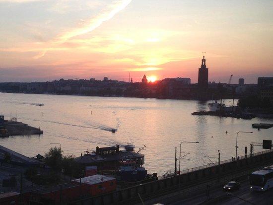 Hilton Stockholm Slussen: View from Executive tower