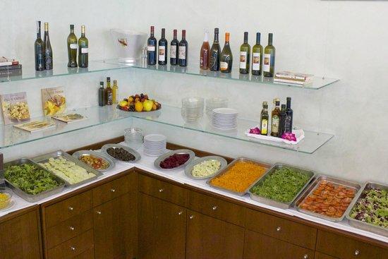 Hotel Bolivar: Il buffet dei contorni