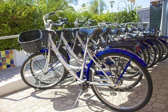 Hotel Bolivar: Le bici Gratuite