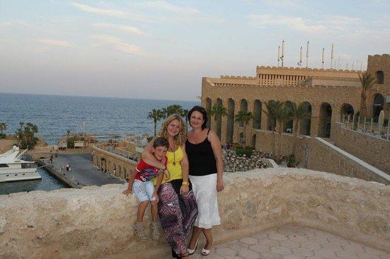 Citadel Azur Resort: Вид на главный ресторан