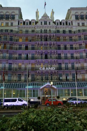 The Grand Brighton: Night time Grand