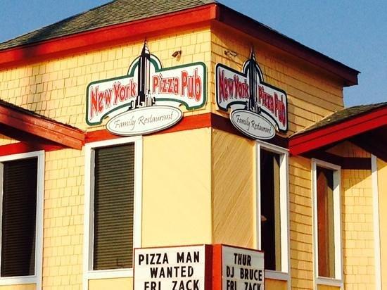 New York Pizza Pub: New York Pizza, Nags Head