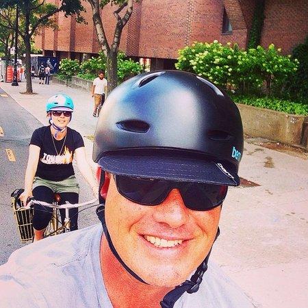 Fitz & Follwell Co.: Mid ride selfie!