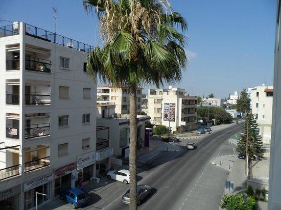 Asty Hotel : Вид с балкона